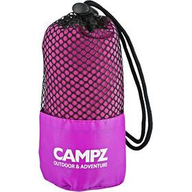 CAMPZ Serviette en microfibre 80x150cm, pink